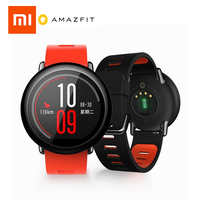 English Version Xiaomi AMAZFIT PaceHuami for Mifit Smart Watch bluetooth GPS Smartwatch Wearable Devices Heart Rate Android IOS