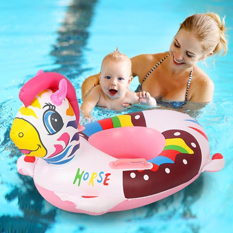 Baby & Kids' Floats 2019 Neuer Stil Kinder Schwimmt Pools Baby Aufblasbare Sitz Schwimmen Schwimmen Ring Pool Hilfe Trainer Strand Float Boot Infant Kinder Wasser Spaß Sammeln & Seltenes