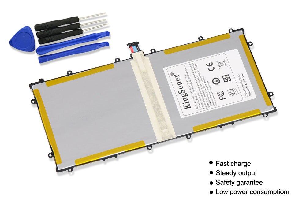 KingSener SP3496A8H Batteri För Samsung Google Nexus 10 N10 Tablet - Laptop-tillbehör - Foto 2