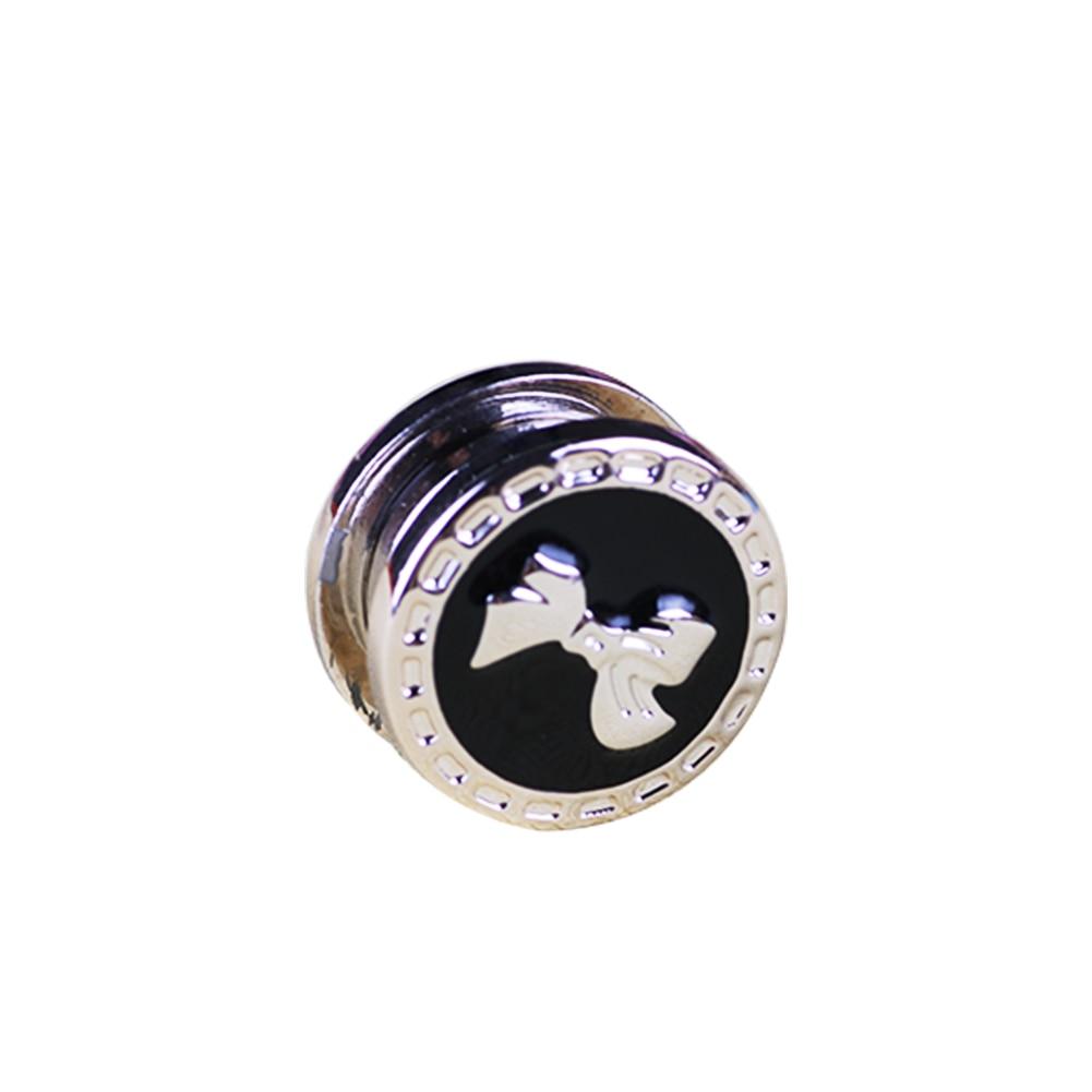 Vintage Flower Elegant Magnet Brooch Classic Fix Pin Hijab Accessories Muslim Scarf Buckle 1PC