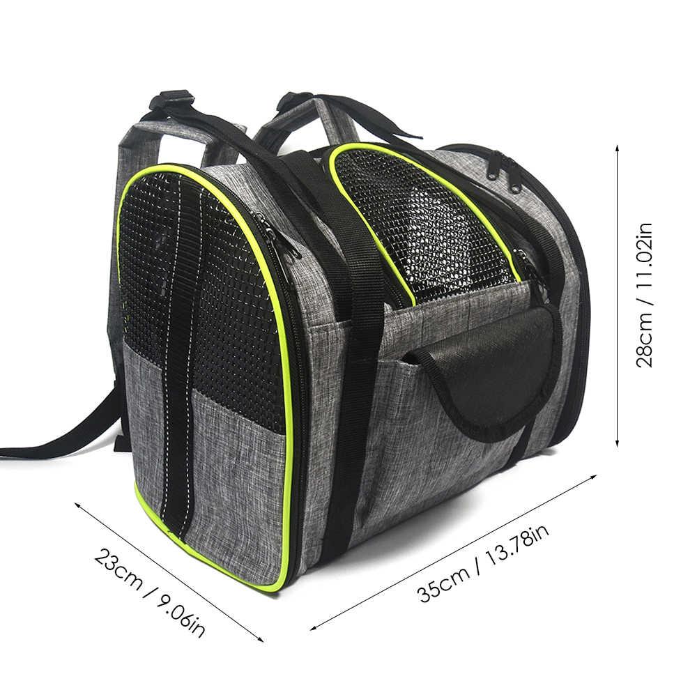 Дышащие трусики для собак кошек рюкзак сумка-переноска для животных складной мешок собака кот Сумка Портативный Наплечная Сумка принадлежности для домашних животных