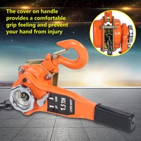 Oversea ES 1 Set 1.5Ton 10ft Lever Chain Hoist Ratchet Puller Lifting Equipment Lever Chain Puller Alloy Steel