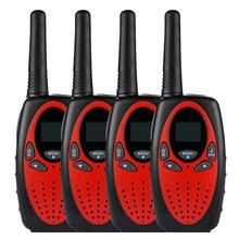 Walkie-Talkie UHF400-470MHZ 5-Km 2-Way 8-Canals Lcd-Display Radio Reach PMR Portable