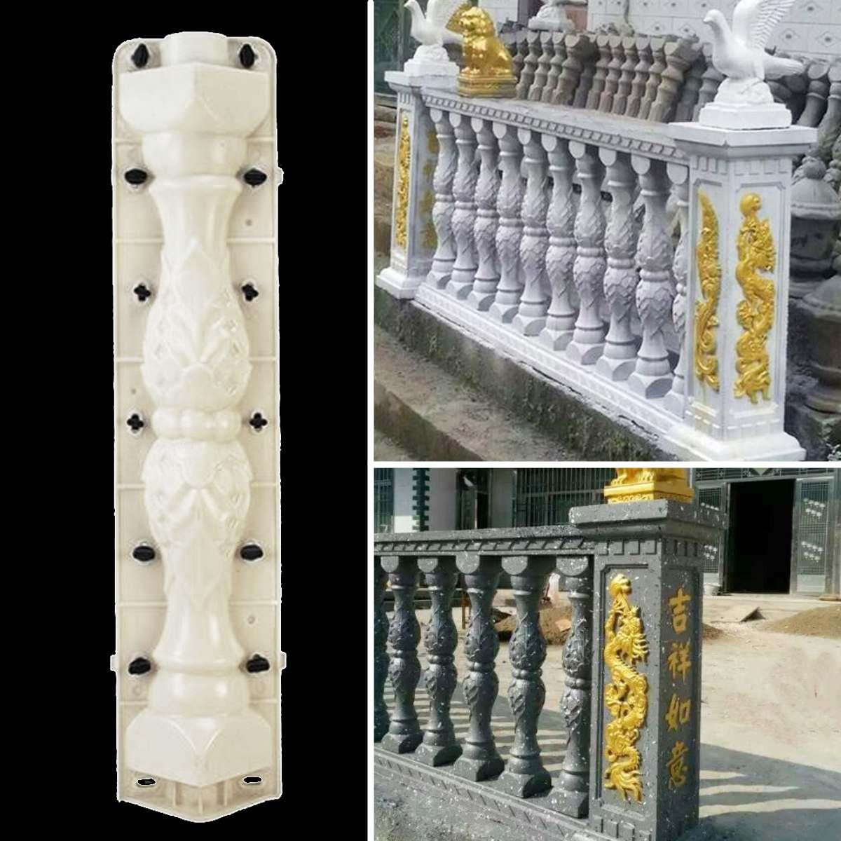 68cm Fence Mold Garden Roman Column Concrete Mould Balcony Stair Fence Cement Railing Mould Plaster Building Paving Molds