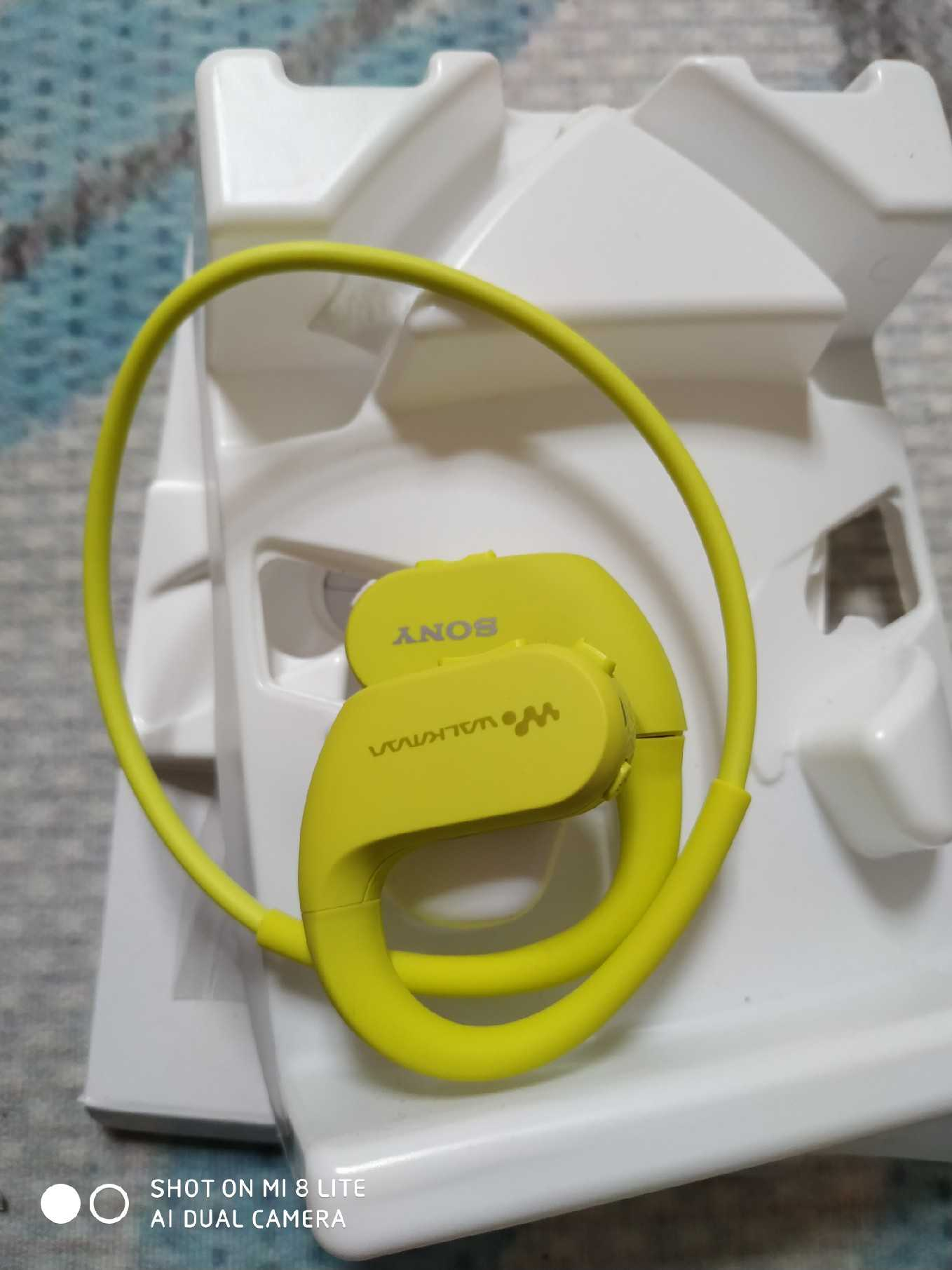 USED(NOT NEW),SONY Waterproof Swimming Running Mp3 Music Player Headset Integrated Accessories Free Shipping WS414