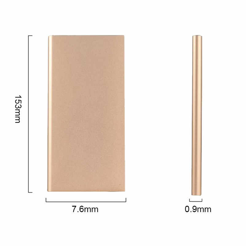 20000mAh Portable Dual USB Poverbank External Power Bank Phone Battery Charger For iPhone Xiaomi Smart Android Phone Power bank