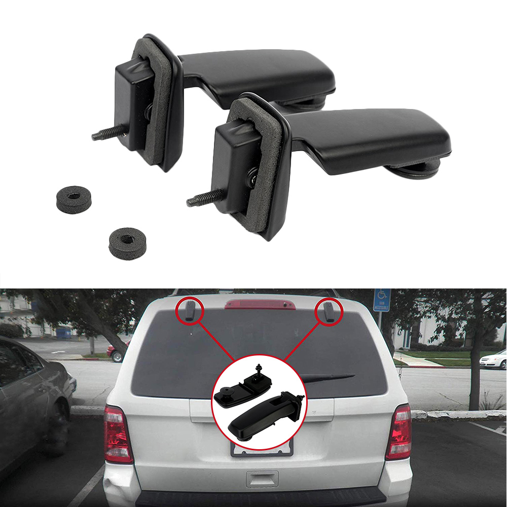 New Rear Window Hinge Set Glass Window Hatch Pair YL8Z 78420A68 69 BA for Ford Escape