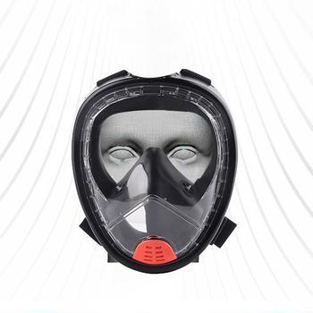 Diving Mask Underwater Folding Anti-fog Waterproof Full Face Snorkeling Mask Men And Women Swimming Snorkel Diving Equipment diving equipment