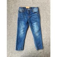 Small Li Jia Pure Original Small And Medium Virgin Boy Girl Wash Wear Bai Xiushen Joker Leisure Time Jeans Trousers 3 8 Year