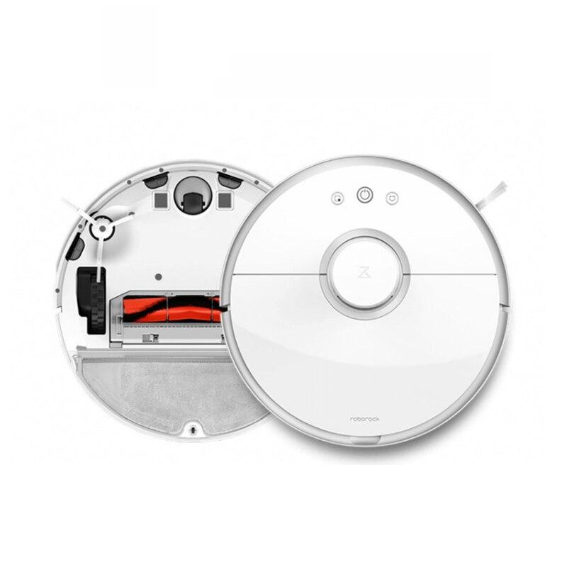 Versione internazionale Roborock Aspirapolvere 2 S50 S55 Spazzare Umido Pulire Pulito Robot Smart LDS Percorso Piano bianco