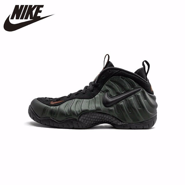 the best attitude 71252 3f427 Nike Air Foamposite Pro New Arrival Original Imioio Blackish Green Army  Bubble Running Shoes Comfortable Sneakers 624041-304