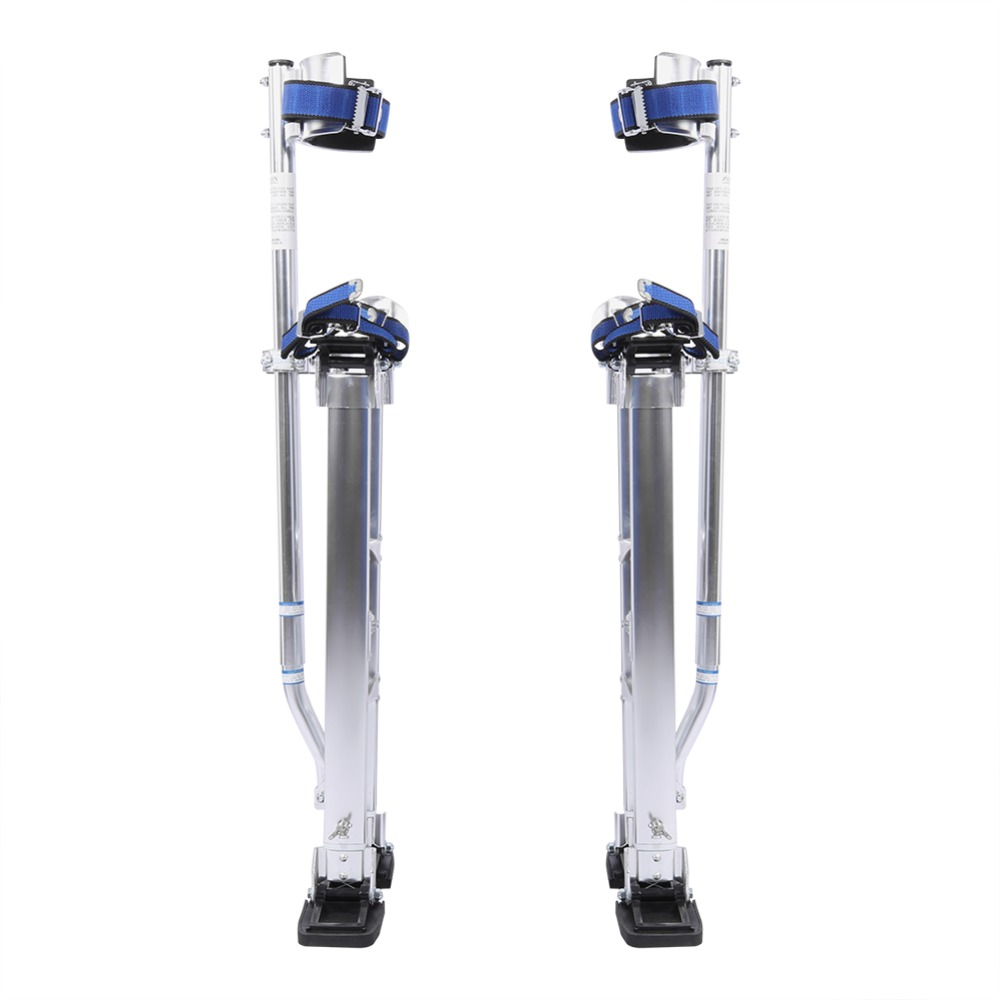 18 to 30 inch Adjustable Professional Aluminum Plastering Stilt Ladder Drywall Plaste Stilts Paint Painter Tool