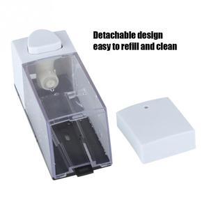 Image 2 - 350ml Liquid Soap Dispenser Manual Soap Lotion Sanitizer Shampoo Dispensador Wall Mount Hand Soap Bottle for Kitchen Bathroom