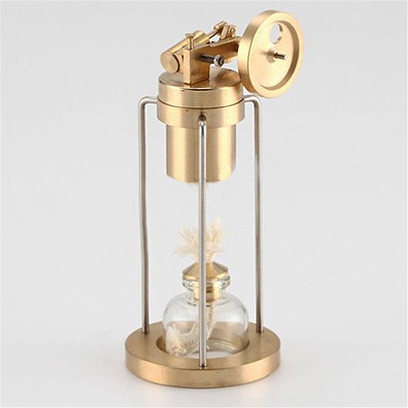 120x60x55mm Microcosm Mini Live Steam Engine Brass Stirling Engine Model Physical Science School Educational Equipment New120x60x55mm Microcosm Mini Live Steam Engine Brass Stirling Engine Model Physical Science School Educational Equipment New