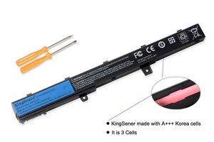 Image 2 - Kingsener 韓国携帯 A31N1319 A41N1308 asus X451 X551 X451C X451CA X551C X551CA X551M X551MA A31LJ91 0B110 00250100