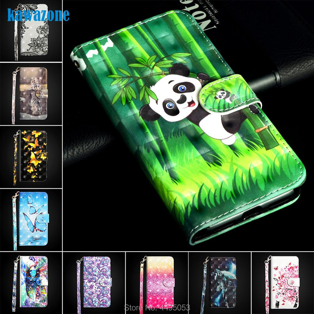 Etui Coque Cover <font><b>Flip</b></font> <font><b>Case</b></font> For <font><b>Nokia</b></font> 2 2.1 3 3.1 5 5.1 6 <font><b>6.1</b></font> 7 Plus 7.1 8.1 2018 with Tpu 3D Painted PU <font><b>Leather</b></font> Phone Wallet image