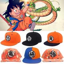 De alta calidad de Goku de Dragon ball Z gorra de béisbol plana Snapback  Hip Hop edfe750c699
