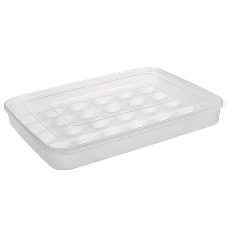 New 1pcs 30 Grids Large Capacity Portable Home Picnic Plastic Egg Box Case Holder Storage Container Fridge|Water Dispenser Parts| |  - title=