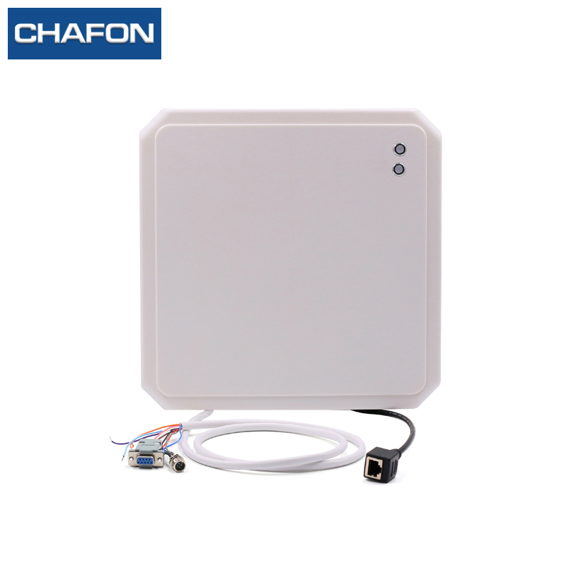 CHAFON 10m Tcp/ip Rfid Card Reader Built-in 9dbi Circular Antenna Provide Free SDK For Car Parking And Warehouse Management