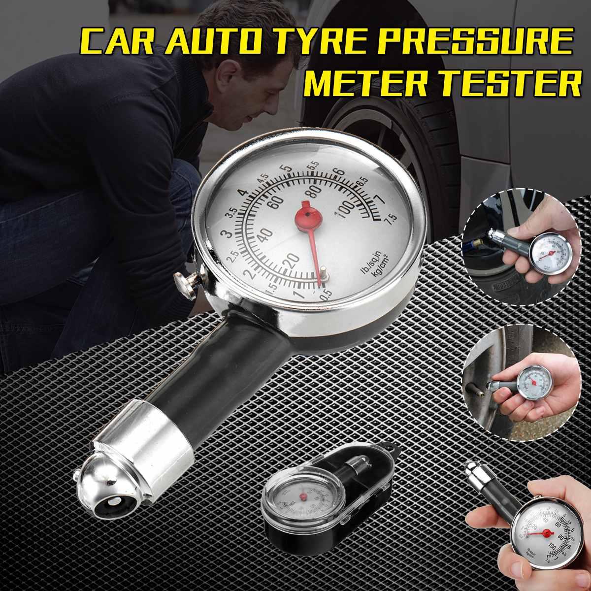 Metall Auto Reifen manometer AUTO Luftdruck Meter Tester Diagnose Tool Fahrzeug Tester Überwachung System Messung Werkzeug