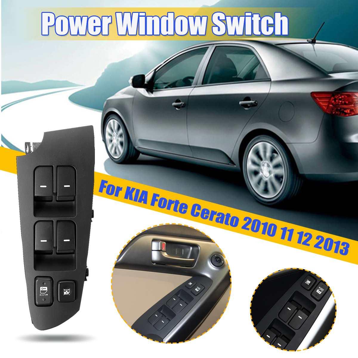 H Assy for 2010 2012 Kia Forte Rear L ALL New Cerato Power Window Switch