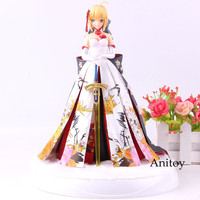 Fate Stay Night Figure Saber Kimono White Dress Action Figure Collection Model Toy For Gift