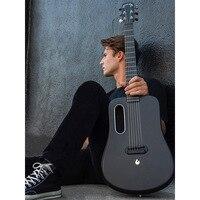 Вулканической лавы ME 2 высокого качества из углеродного волокна баллада гитары для мужчин и женщин начинающих путешествия гитары 36 дюймов с