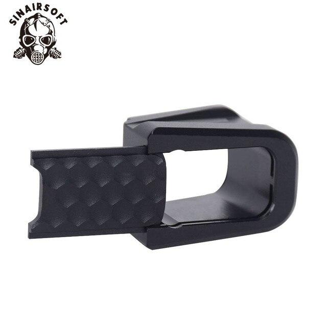 Gorące innowacje taktyczne aluminiowa czarna podstawa zestaw nakładek do glocka 17, 22, 34, 35 USPA IPSC i IDPA paintball strzelanie sportowe