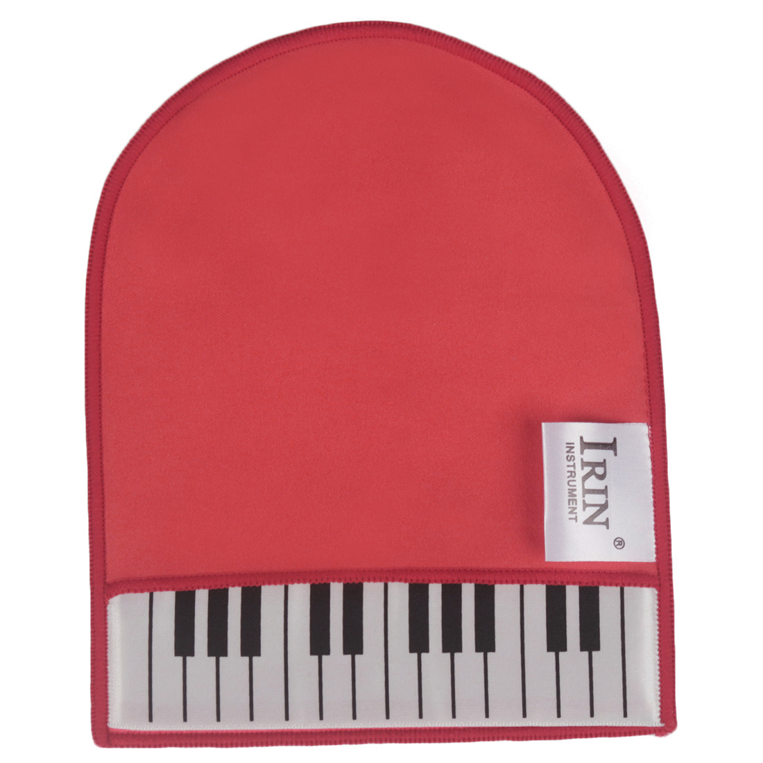 IRIN Piano Cleaning Cloth Wipes Cleaning Glove With Piano Keyboard Design Musical Instrument Duster Cleaning Care Tool