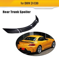 Carbon Fiber Rear Spoiler For BMW Z4 M Coupe Roadster Convertible 2 Door 2009 2012 Trunk Boot Wing Lip