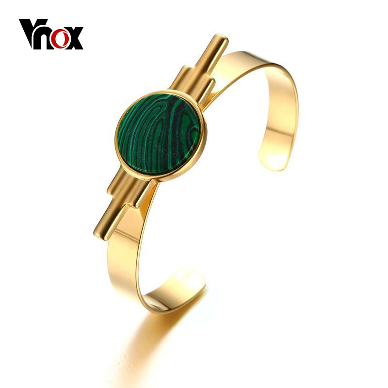 Vnox Stylish Green Natural...