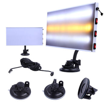 Super PDR LED Lamp Dent Repair Tools Dent Detector PDR line Board Dent Reflector for Car Body Dent Remove