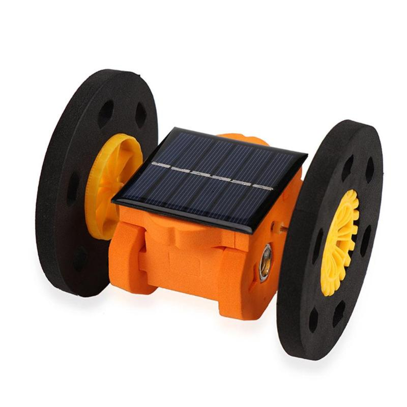 DIY Solar Hoverboard Kids Electric Science Experiment Educational Toys