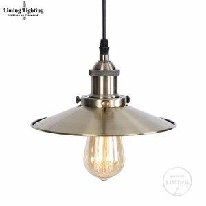 Image 2 - Moderne Hanglamp Ijzer Opknoping Kooi Vintage Led Lamp E27 Industriële Loft Retro Eetkamer Restaurant Bar Slaapkamer