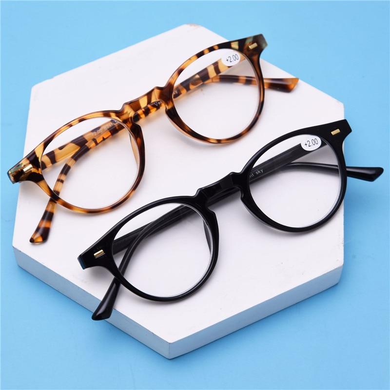 Aktiv Kujuny Frauen Runde Lesebrille Volle Rahmen Presbyopie Brille Hyperopie Brille Eyewears Brillen Für ältere Menschen
