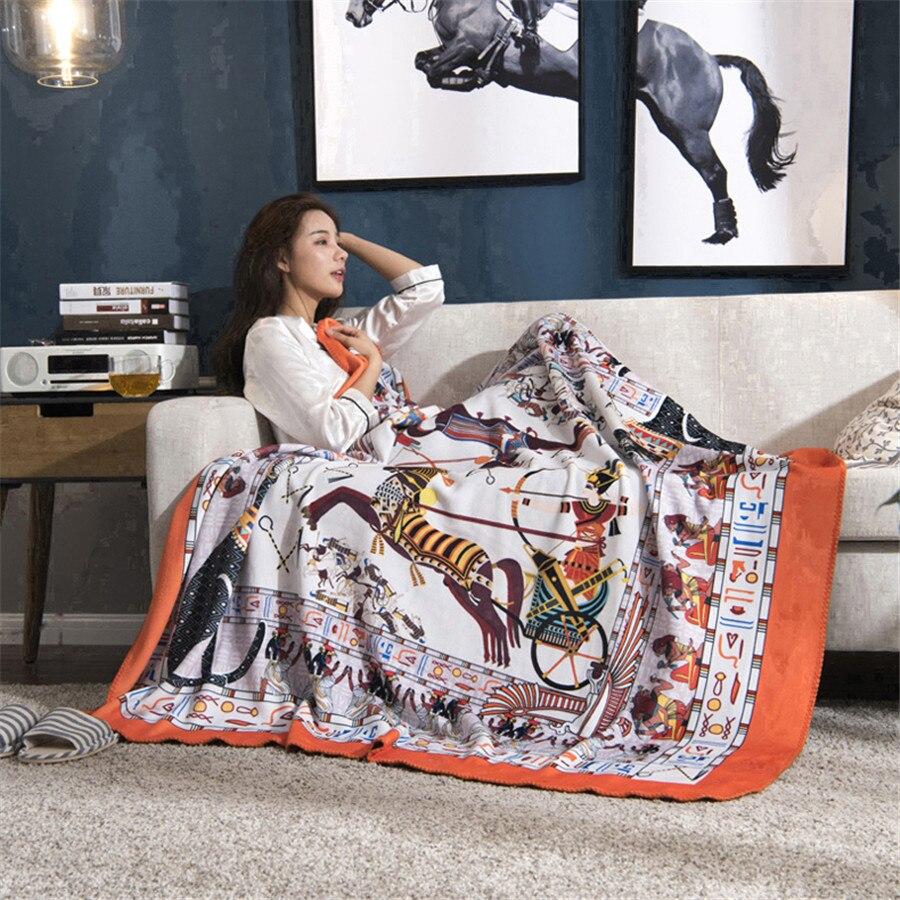 H couverture Chunky tricot couverture maison hiver polaire adultes enfants voyage bureau maison laine couvertures pour lits