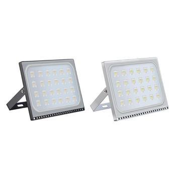Ultracienki reflektor AC 110 V IP65 144/216/288/432LED reflektor aluminium PC SMD oświetlenie na zewnątrz lampa ogrodowa