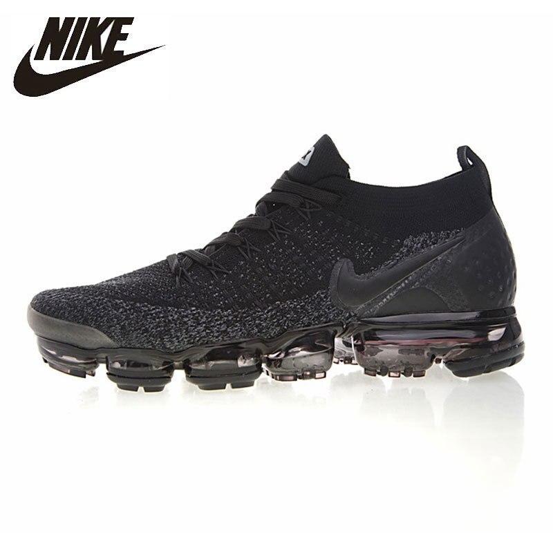Nike Air VaporMax Flyknit chaussures de course pour hommes respirant Absorption des chocs baskets #942842-012