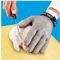 Отбеливающие Дэвиса нержавеющая стальная металлическая сетка стальные сетчатые перчатки Мясорубка glvoe EN388 перчатки