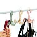 Krawatte Mantel Schrank Aufhänger Tasche Kunststoff Aufhänger Schrank Veranstalter Gedreht Lagerung Rack Wäsche Werkzeug Ohne Punch Multifunktions