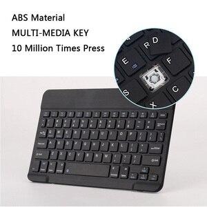 Мини беспроводная клавиатура Беспроводная Bluetooth клавиатура для Ipad клавиатуры для Apple/Xiaomi/Iphone/мобильный телефон/планшет перезаряжаемый