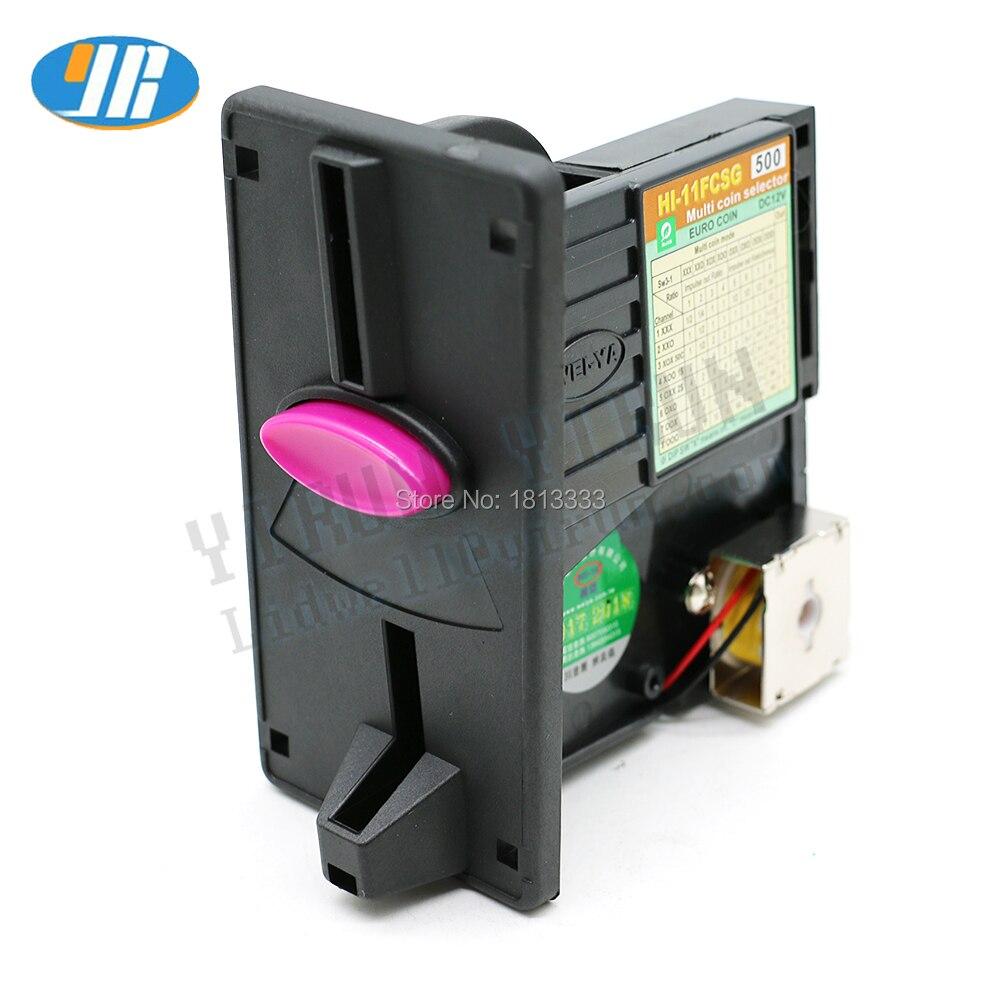WEIYA HI 11FCSG multi coin acceptor coin Selector Vending machines arcade part coin validator token acceptor