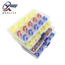 (30PCS/box)Scotch Lock Electric Wire Cable Connector Quick Splice Terminal Crimp Non Destructive Without Breaking Line AWG 22-10 100pcs scotch lock quick splice crimp terminal connectors set red blue yellow awg 22 10