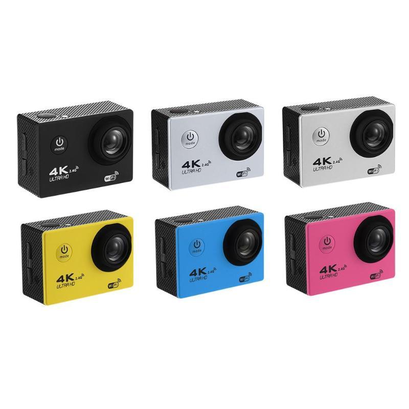 Unterhaltungselektronik Kenntnisreich F60r 4 K Wifi Action Kamera 1080 P 16mp 30 M Wasserdichte Dv W/fernbedienung