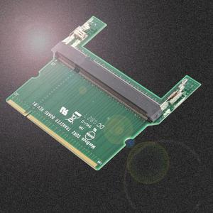 Image 4 - DDR2/DDR3 Laptop SO DIMM para Cabos Conectores Adaptador Adaptador de Cartão de Memória RAM Do Computador Desktop DIMM RAM Placa Adaptadora promoção