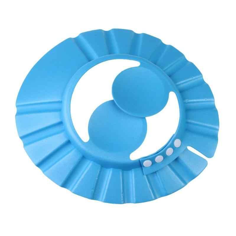 ปรับเด็กทารกแชมพู Care กันน้ำ Protector แฟชั่นอาบน้ำหมวกล้างผมหู SHIELD เด็กใหม่