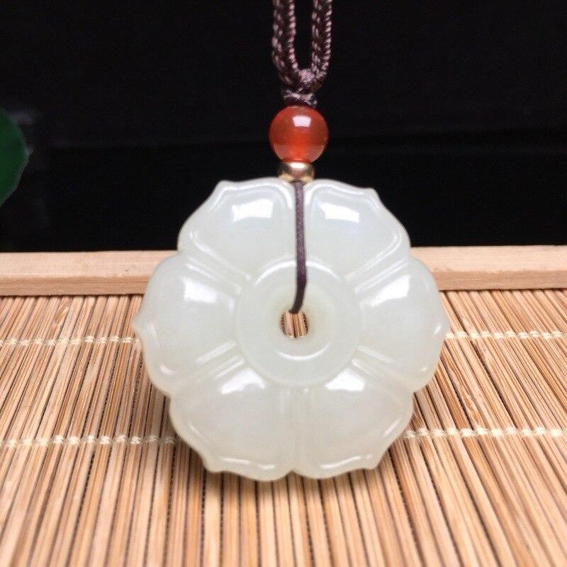 2019 Buda Popsocket nouveau Chakra Druzy naturel pendentif Yu Xuan, hétien Lotus Six feuilles collier bijoux accessoires en gros