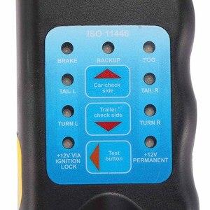 Image 5 - Outil de Diagnostic à 13 broches, pour voiture, remorque, caravane, barre de remorquage, câblage léger, testeur de Circuit, prise, approuvé ROHS