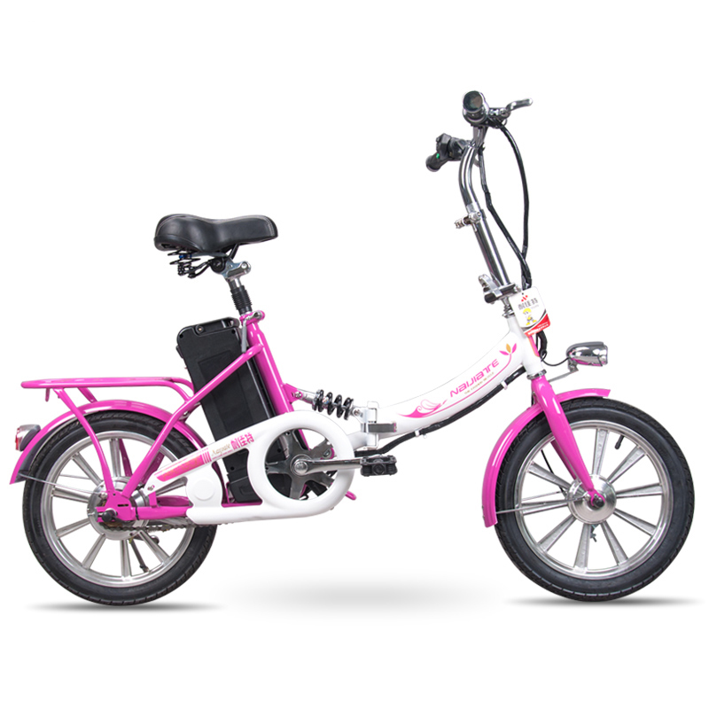 Daibot Electric bicycle 250w Electric scooters 16 inch 36V 70km City Bicycle Women Portable folding Electric Scooter For Adult