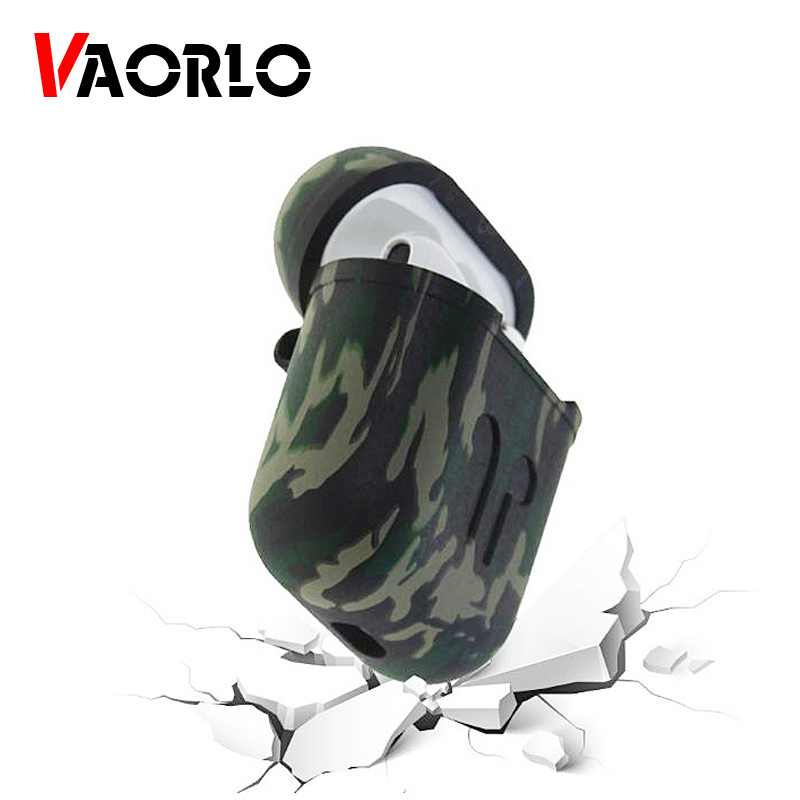 VAORLO Soft Silicone Case For Apple <font><b>Airpods</b></font> Shockproof Cover For i20 <font><b>i30</b></font> i60 i10 i80 <font><b>tws</b></font> Bluetooth Earphone Cases Protector Case image